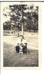 Dad as a teenager in Sherwood, AR.