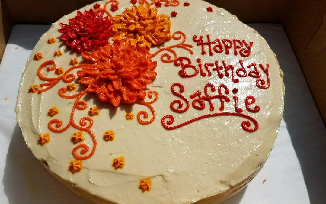 Saffie Custom Cake
