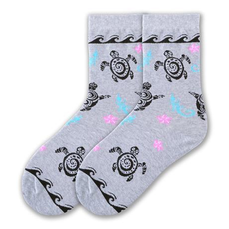 tribal turtle socks
