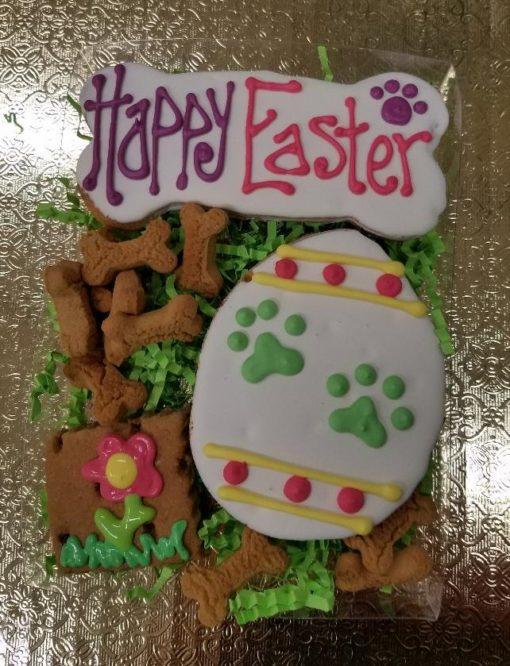 dog easter cookie set
