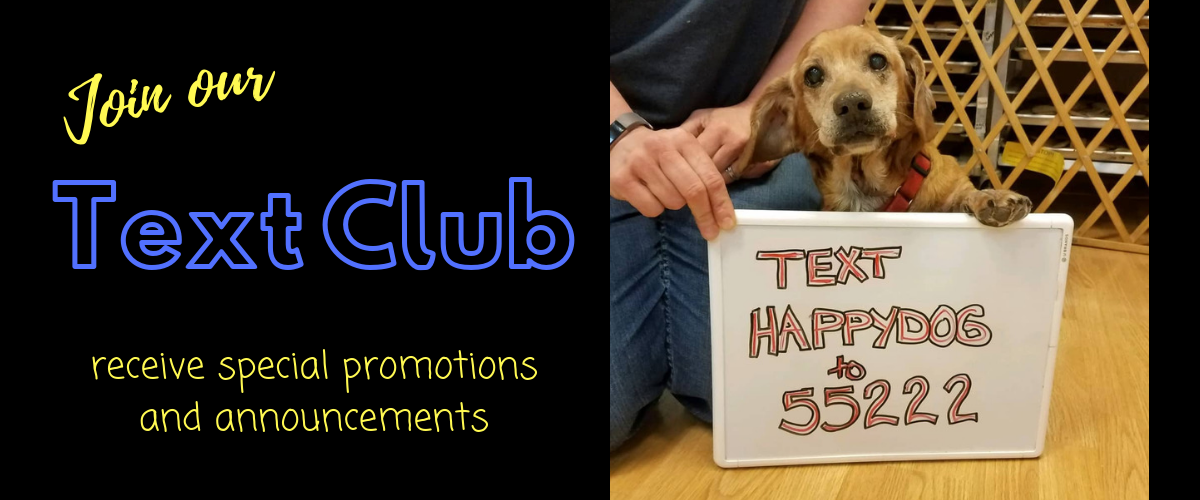 Happy Dog Barkery Text Club
