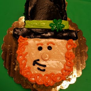 leprechaun cake for dogs
